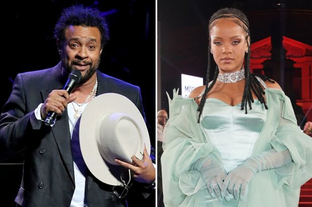 """Shaggy reveals he turned down Rihanna's invitation to be on her new album because she asked him to """"audition"""""""