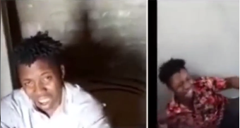 Nigerian man calls out after allegedly being held captive in Pakistan (video)