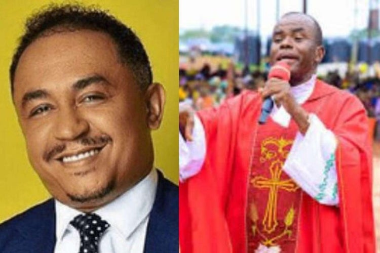 Daddy Freeze reacts after Father Mbaka's prophecy on Ihedioha came to pass