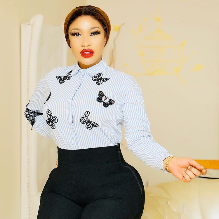 Tonto Dikeh  plans on dealing  with her domestic staff