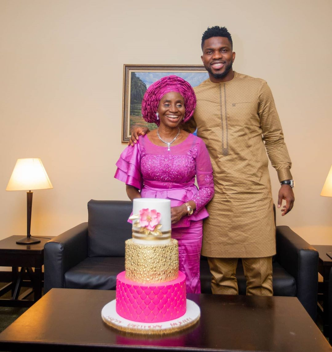 Joseph Yobo Shares Beautiful Photos Of His Mother To Celebrate Her Birthday