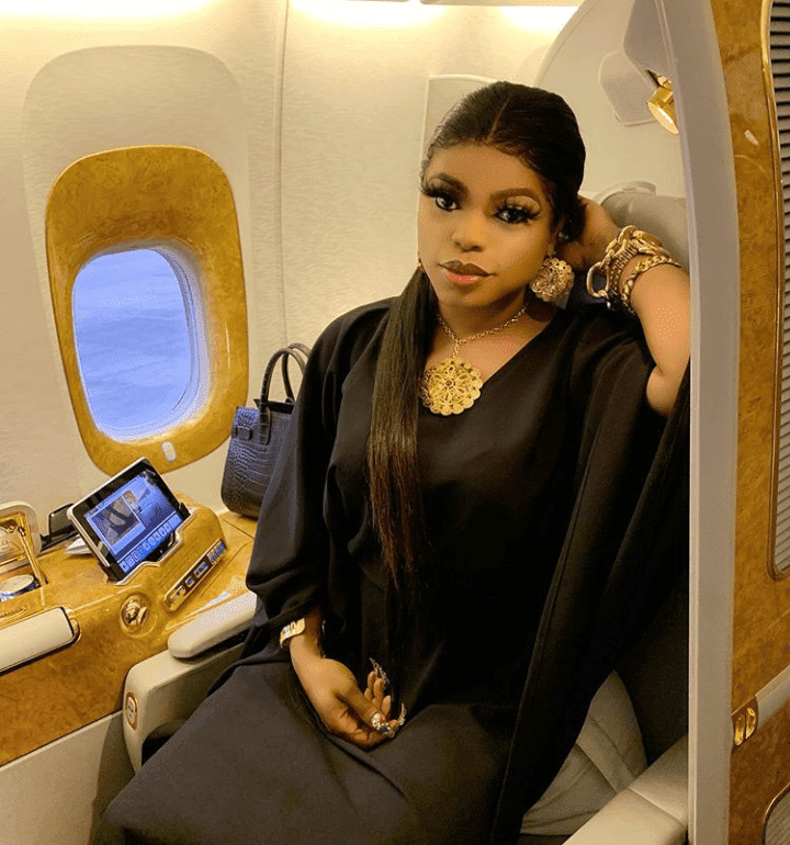 Bobrisky talks about what he will do if anyone coughs around him