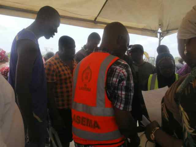 Abule Ado explosion: LASEMA begins verification of  displaced residents