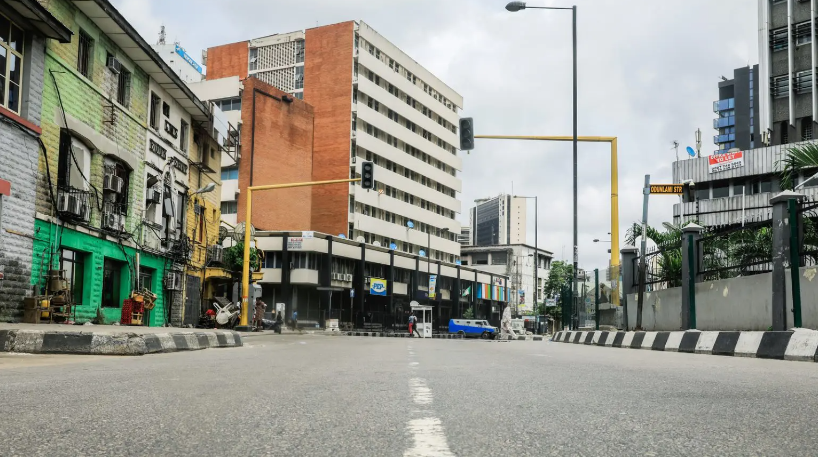 Youths protest COVID-19 lockdown in Lagos, oppose preferential treatment for expatriates
