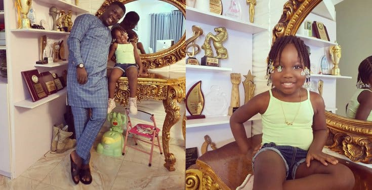 Seyi Law savagely replies a fan who queried him about his daughter, Tiwa