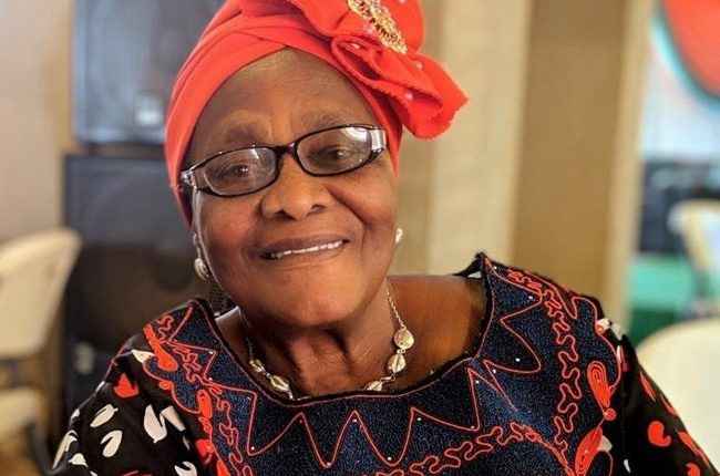 Buhari condoles with Oby Ezekwesili over the death of her mother