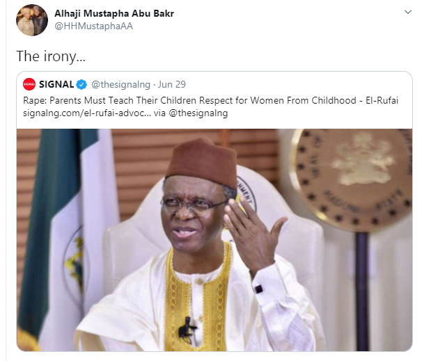 Drama as El-Rufai's sons defend their father, mock former Vice President, Atiku