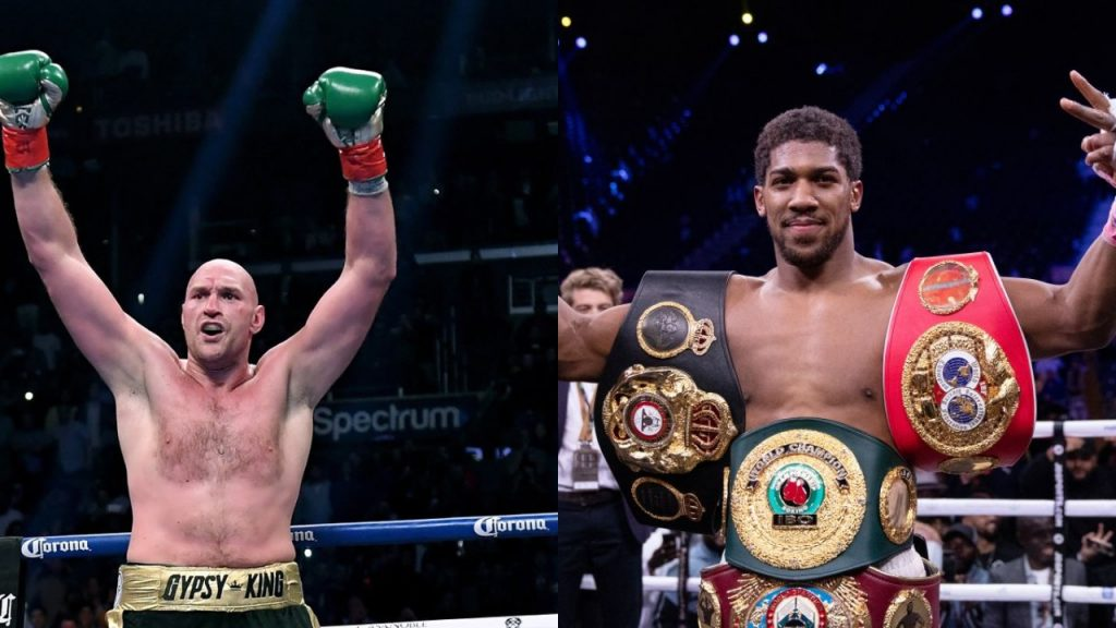 Tyson Fury, Anthony Joshua accept deal for two fights