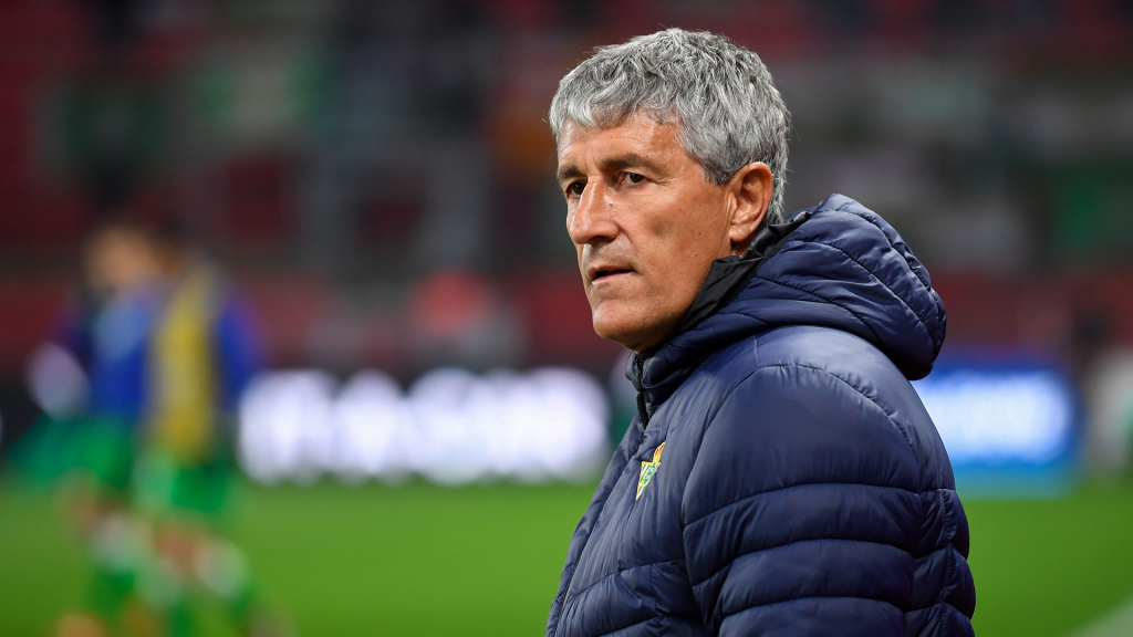 Barcelona to sack coach Setien on one condition