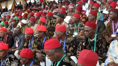 Create More States, Local Councils in South-East, Ohanaeze Tells Buhari