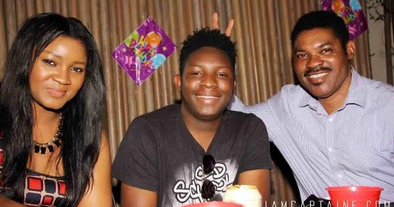 Omotola Ekeinde breaks the Internet with a photo-shoot featuring son