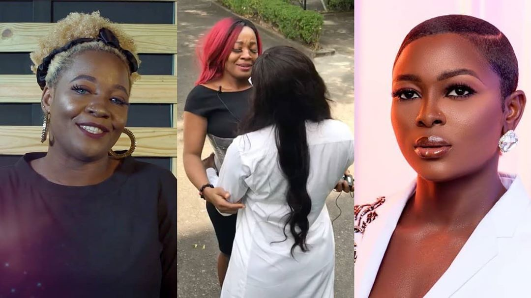 BBNaija stars, Ka3na and Lucy meet for the first time since her eviction