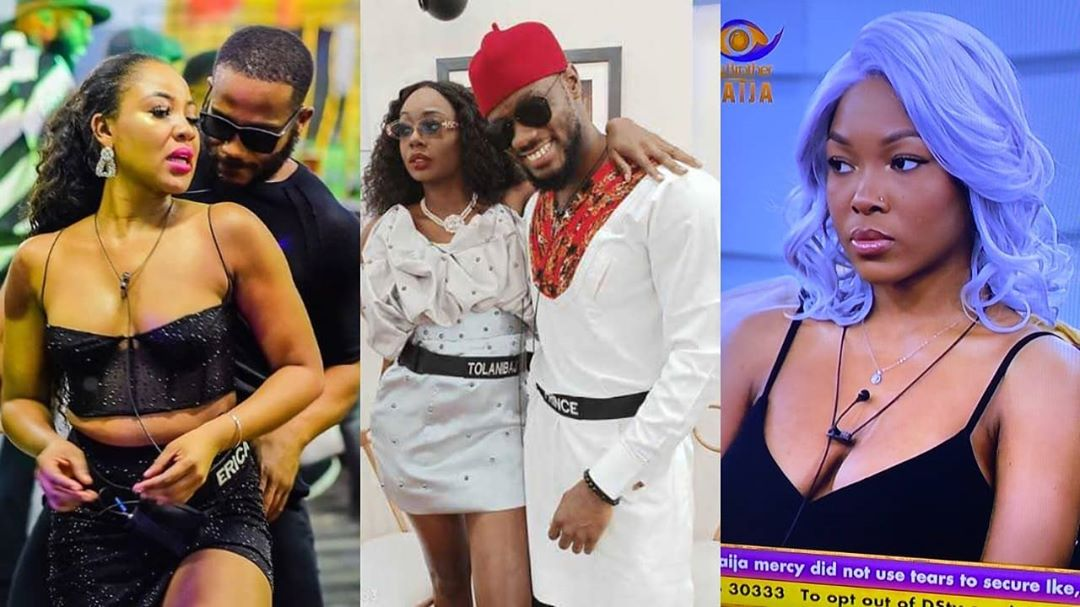 #BBNaija2020: 'I believe Kiddwaya is Knacking Erica now and Tolanibaj is begging Prince for his forgiveness' – Vee