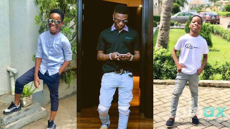 """""""My Dad Is The Greatest Of All Time"""" – Wizkid's Son, Boluwatife Declares"""