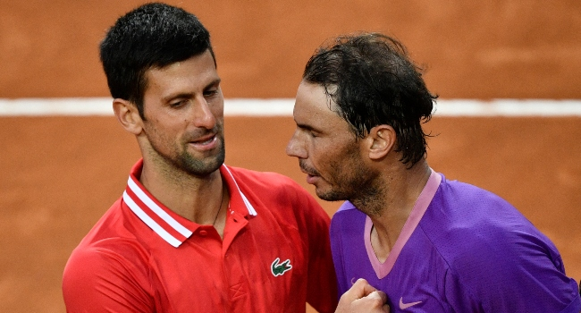 Chapter 58 Of 'Historic Rivalry' For Djokovic, Nadal At French Open